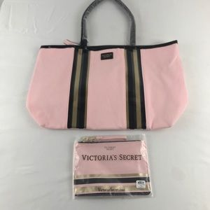 Victoria Secret Tote and Makeup bag